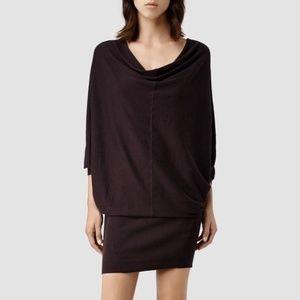AllSaints | Elgar Cowl Neck Sweater Dress